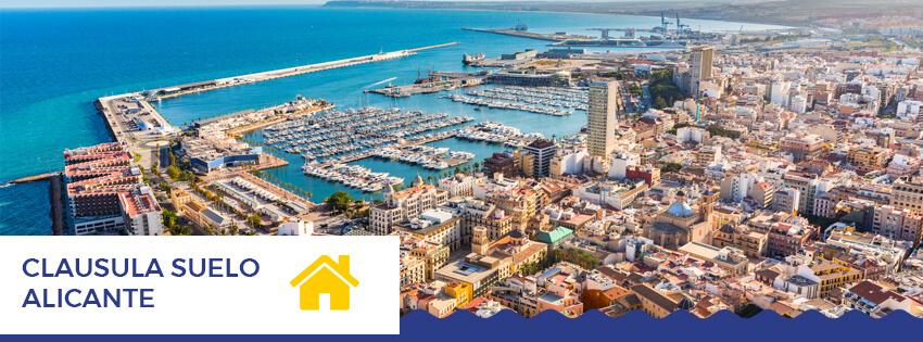 Clausula suelo Alicante
