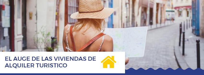 El auge de las viviendas de alquiler turistico