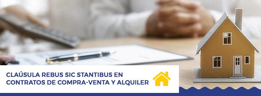 clausula rebus sic stantibus en contratos de compra venta y alquiler